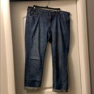 Gap Boyfriend Blue Jeans